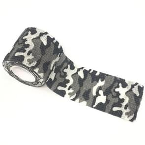 Outdoor Self Adhesive Non Woven Camouflage Wrap Rifle Hunting Shooting Cycling Tape Waterproof Camo Stealth Tape  Length: 4.5m