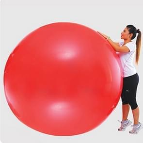 Buiten Party natuurlijke Latex 72 Inch weer lucht Balloon(Red)