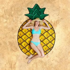Ananas patroon gedrukt zomer Bad handdoek zand strand handdoek omslagdoek sjaal  formaat: 150 x 150cm