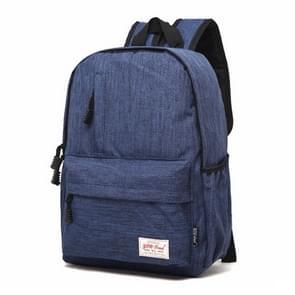 Universele multifunctionele 15.6 inch Laptop Schouderstas studenten Backpack voor MacBook  Samsung  Lenovo  Sony  Dell  Chuwi  Asus  HP  Afmetingen: 42 x 29 x 13 cm (blauw)