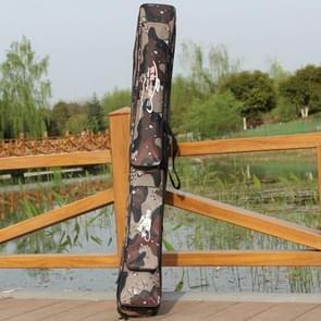 Woestijn Camouflage dubbellaagse hengel pakket waterdichte vocht - bewijs visserij tas  lengte: 1.2 m  willekeurige kleur patroon levering