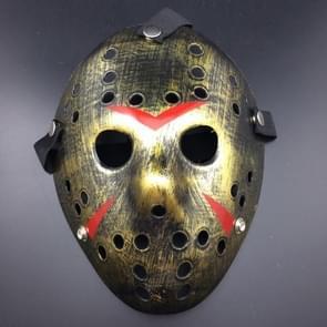 Halloween Party Cool dikker Jason Mask(Gold)