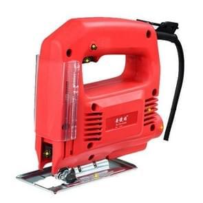 220V Jig zag elektrische zag houtbewerking elektrische gereedschappen Multifunction kettingzaag Hand zagen hout snijden Machine met Laser & (2 Saw-Blade) zonder gids  EU plug