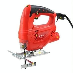 220V Jig zag elektrische zag houtbewerking elektrische gereedschappen Multifunction kettingzaag Hand zagen hout snijden Machine met Lase & 10 zag Blader  EU plug