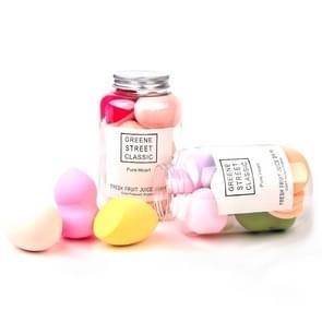 Zachte Sponge Make-up Ei cosmetische soezen gebotteld set  willekeurige kleur levering