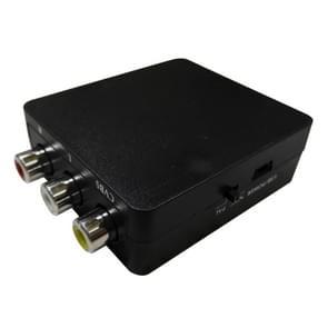 HDMI naar AV + Audio Splitter  ondersteunt PAL en NTSC