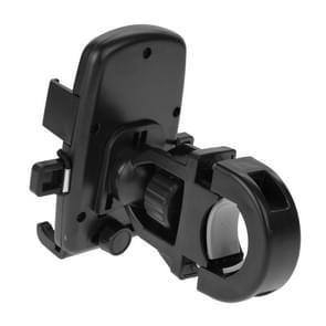 HAWEEL 360 graden draaiend universeel fiets houder voor iPhone 6 & 6s / iPhone 5 & 5C & 5S / iPhone 4 & 4S  Afmeting houder: 49mm-75mm(zwart)