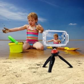 HAWEEL voor iPhone X 40m / 130ft waterdichte duiken huisvesting Foto Video nemen onderwater Cover Case(Transparent)