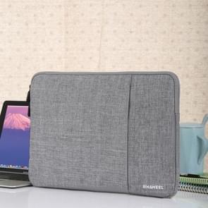 HAWEEL 15 inch Laptoptas Sleeve voor MacBook  Samsung  Lenovo  Sony  Dell  Chuwi  Asus  HP (grijs)