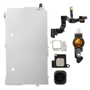 6 in 1 voor iPhone 5 LCD Repair Accessoires Part Set (Zwart)