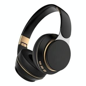 07S Opvouwbare sportcomputergames draadloze Bluetooth V5.0-headset met microfoon (zwart)