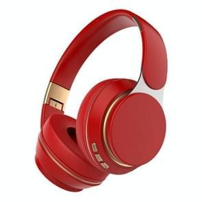 07S Opvouwbare sportcomputergames draadloze Bluetooth V5.0-headset met microfoon (rood)