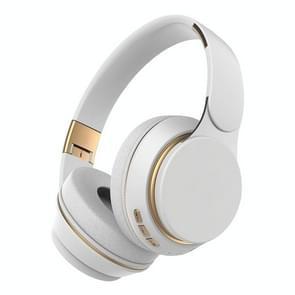 07S Opvouwbare sportcomputergames draadloze Bluetooth V5.0-headset met microfoon (wit)