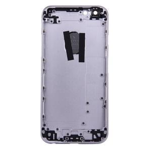 5 in 1 voor iPhone 6s (backcover + kaarthouder Volume Control-toets + Power knop + Mute Switch Vibrator-toets) volledige vergadering huisvesting Cover(Grey)