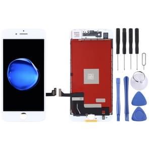 Originele LCD-scherm en digitizer volledige assemblage voor iPhone 7 (wit)