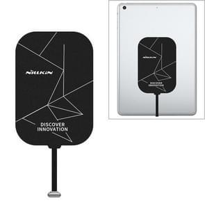 NILLKIN NKR01 Voor iPad 9 7 / 10 2 inch & iPad Air 10 5 inch & iPad Pro 10 5 inch Lange Magic Tag Plus QI Standaard draadloze oplaadontvanger met 8-pins poort