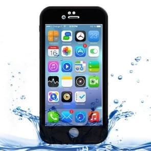 iPhone 7 & 8 geheel omhullend Diamant patroon waterbestendig TPU + Kunststof Hoesje (zwart)