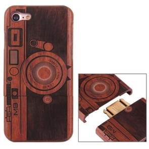 Voor de iPhone 7 artistieke M9 Camera patroon scheidbaar Rosewood beschermende Back Cover Shell