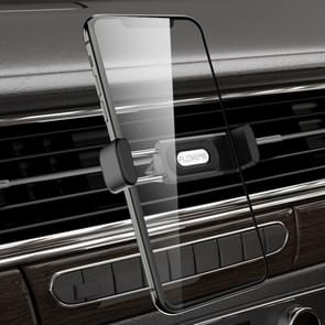 FLOVEME YXF204097 AE-FLM Car Outlet Small Clip Telefoonhouder voor 3 5-6 5 inch telefoon (zwart)