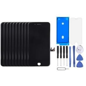 10 PC's LCD-scherm en Digitizer voor iPhone 7(Black)