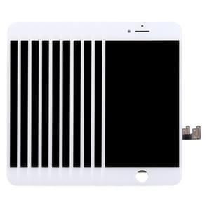 10 PC's LCD-scherm en Digitizer voor iPhone 7(White)