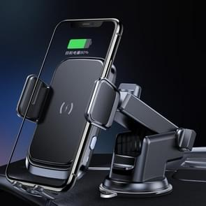 X7 Auto draadloos opladen mobiele telefoon Gravity Bracket houder zuig cup bracket (zwart)