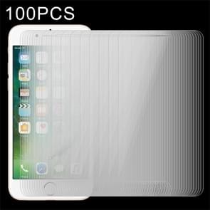 100 stuks voor iPhone 8 Plus & iPhone 7 Plus 0 26 mm 9H oppervlakte hardheid 2.5D explosieveilige getemperd glas Non-full Screen Film