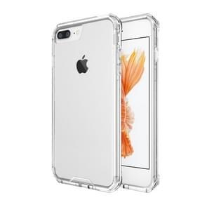 iPhone 7 Plus & 8 Plus transparant TPU + Kunststof back cover Hoesje