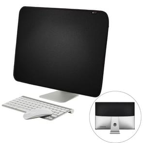 For 27 inch Apple iMac Portable Dustproof Cover Desktop Apple Computer LCD Monitor Cover  Size: 68x48.2cm(Black)