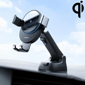 JOYROOM JR-ZS212 Blue Whale Car Dashboard Wireless Charging Mobile Phone Gravity Bracket Holder (Donkergrijs)