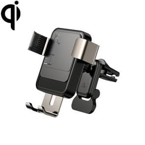 JOYROOM JR-ZS220 Car Air Outlet Draadloos opladen mobiele telefoon Zwaartekrachtbeugelhouder (zwart)