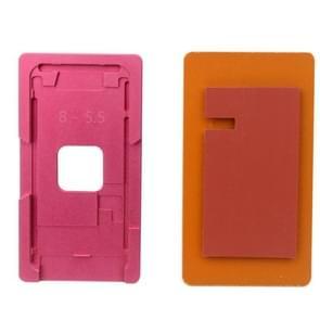 Reparatie precisie scherm renovatie aluminiumlegering Mould mallen voor iPhone 8 Plus(Pink)