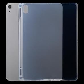 0 75 mm transparante TPU-beschermhoes met pensleuf voor iPad Air (2020) 10 9