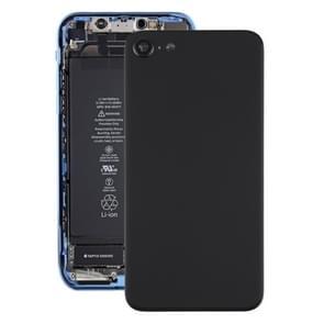 Glazen batterij achterkant voor iPhone SE 2 (Zwart)