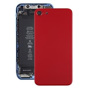 Glazen batterij achterkant voor iPhone SE 2020 (Rood)