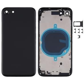 Battery Back Cover met Camera Lens Cover & SIM Card Tray & Side keys voor iPhone SE 2020