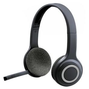 Logitech H600 draadloze headset voor computers via USB-ontvanger (zwart)