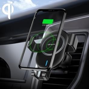 ipipoo WP-2 Qi standaard draadloze oplader zwaartekracht sensing auto luchtuitlaat telefoon houder  geschikt voor 4 7-6 0 inch smartphones