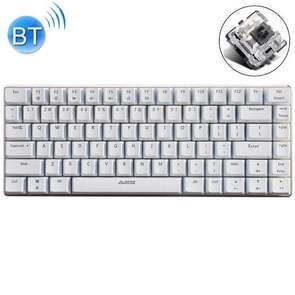 Ajazz 82 Toetsen Laptop Computer Gaming Mechanisch Toetsenbord (Witte Zwarte As)