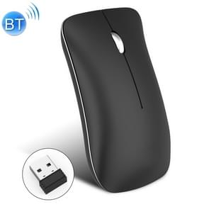 HXSJ T23 Bluetooth + 2 4 GHz draadloze Dual modi 4-Keys 1600 DPI verstelbare ergonomie optische muis