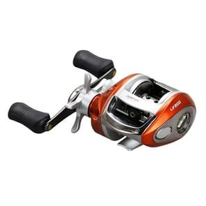 YUMOSHI LV200 Right Hand Low Profile Reel 12+1 Ball Bearings Ratio 6.2:1 Fishing Pole Wheel