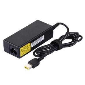 20V 3.25A universeel Lader Big Square (eerste generatie) Laptop Notebook Power Adapter 65W met Power Kabel voor Lenovo Thinkpad X300S / X301S / X240S / T440 / Yoga 13 / Yoga 11S / Yoga 2 / Z505