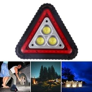 W842 COB + Red LED Multi-function Outdoor Foldable USB Charging Warning Safety Light LED Working Lamp