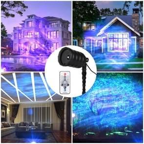 Blinblin CPF-LED 9W RGB IP65 waterdicht ABS Shell landschap licht  gazon Lamp Floodlight met 12-toetsen afstandsbediening