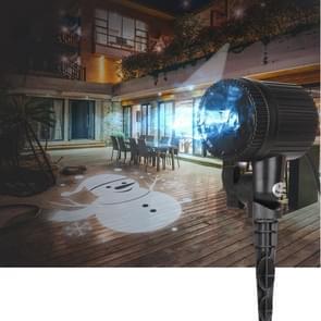 Blinblin CPS-L101 2W IP65 waterdicht wit licht ABS Shell landschap licht  enkel patroon buiten gazon Lamp