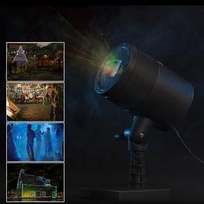 Blinblin CMF-A101 IP65 waterdicht ABS Shell landschap licht  dynamische rood + groen Laser Mini buiten Lamp