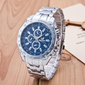 3 pak mannen Business Strip Watch Quartz horloge (kleur: blauw)