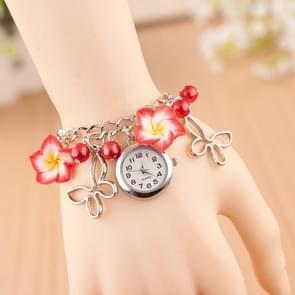 3 Pack Clay Flower Bracelet Watch