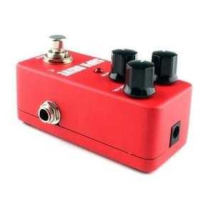 KOKKO FOD5 Mini elektrische gitaar overbelasting Monoblock effecten Pedal(Red)