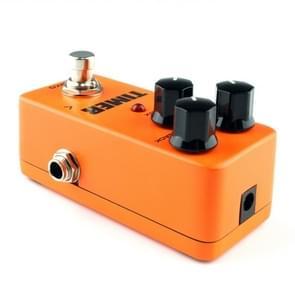 KOKKO FDD2 Mini elektrische gitaar digitaal Delay effect pedaal Timer(Orange)